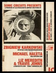 2/27/10 | Pyramid Atlantic | Zbigniew Karkowski, Michael Haleta, Liz Meredith, Travis Johns