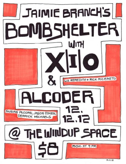 12/12/12 | Windup Space | X|i|O, Bombshelter, Alcoder