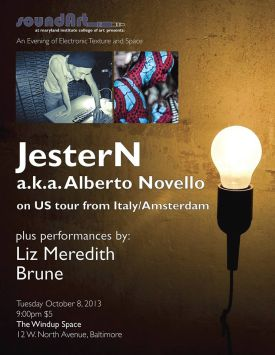 10/8/13 | The Windup Space | JesterN, Liz Meredith, Brune