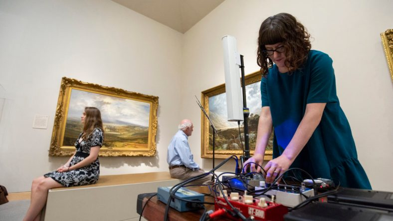 ART-SOUND-NOW at The Walters Art Museum by Jason Putsche Photogr